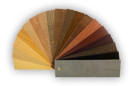 wood blinds color samples