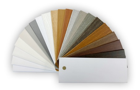 faux wood color samples